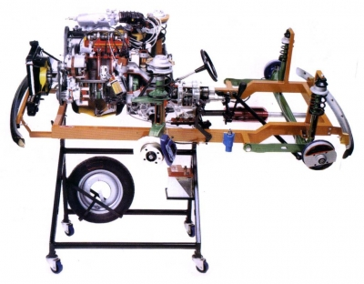Sectioned Front Wheel Drive Unit Trainerfor engineering schools