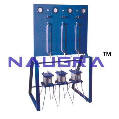 Permeability Apparatus (Three Cell Model) For Testing Lab for Concrete Testing Lab