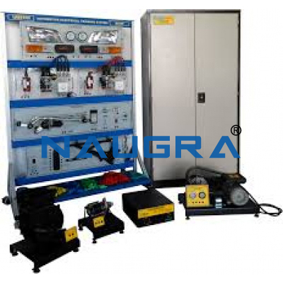 Auto electrical system panel board with all components