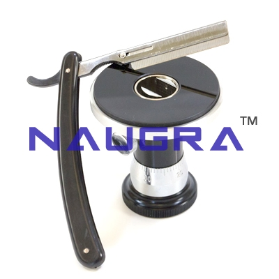 Razor for Hand Microtome for Biology Lab