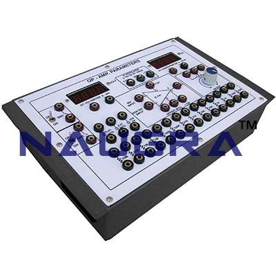 OP Amp as Comparator Trainer for Vocational Training and Didactic Labs