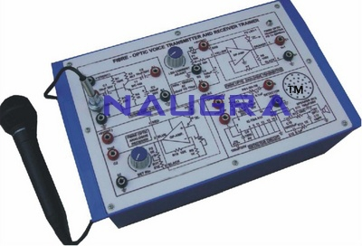 Fiber Optic Voice Transmitter & Receiver Trainer for Vocational Training and Didactic Labs