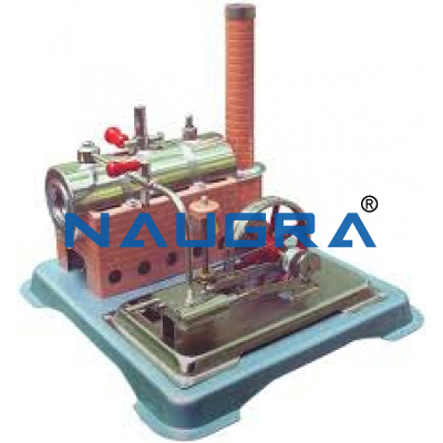 Model of Steam Engine - Heat Transfer Training Systems and Heat Lab Engine Trainers for engineering schools
