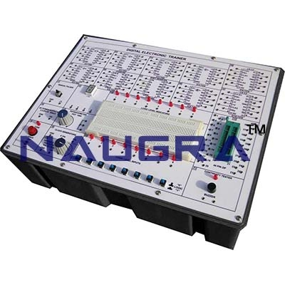 Electronic Coulomb Meter Trainer for Vocational Training and Didactic Labs