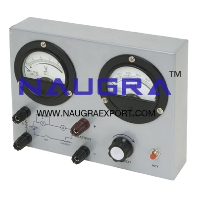 Ohms Law Apparatus for Physics Lab