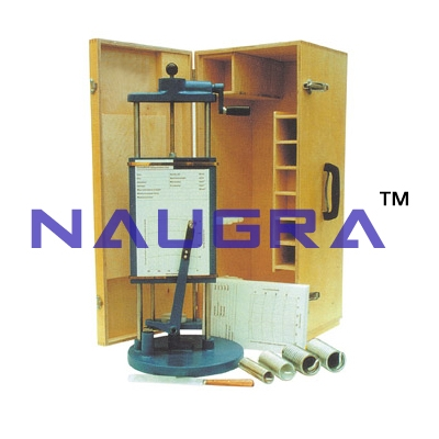 Unconfined Compression Test Apparatus (Spring Type Autographic) For Testing Lab for Soil Testing Lab