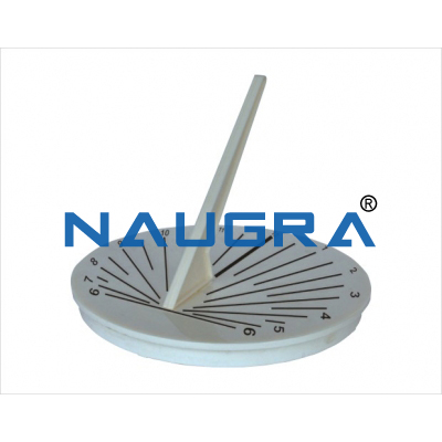 Sundial for Earth Science Lab
