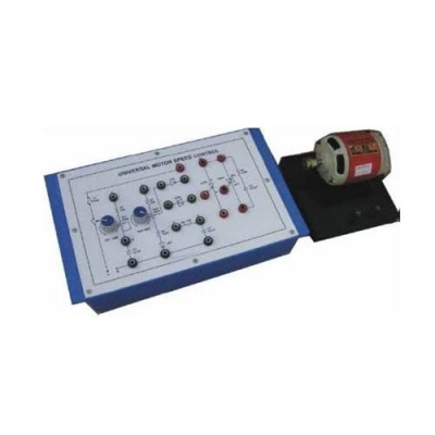 Universal Motor Speed Control Trainer for Power Electronics Training Labs and Vocational Training and Didactic Labs