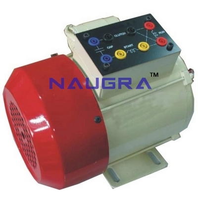 Single Phase AC Squirrel Cage Induction Motor (Capacitor Run) for Electrical Lab