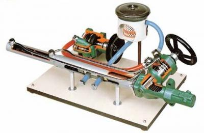 Sectioned power steering hydraulic pumpsfor engineering schools