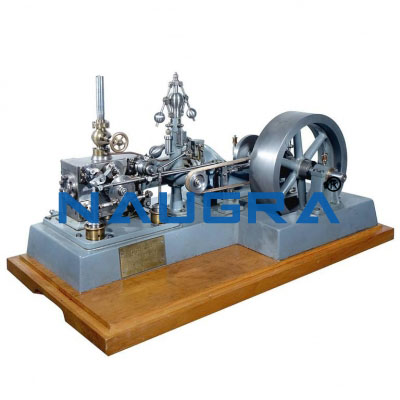 Model of Corliss Valve Steam Engine - Heat Transfer Training Systems and Heat Lab Engine Trainers for engineering schools