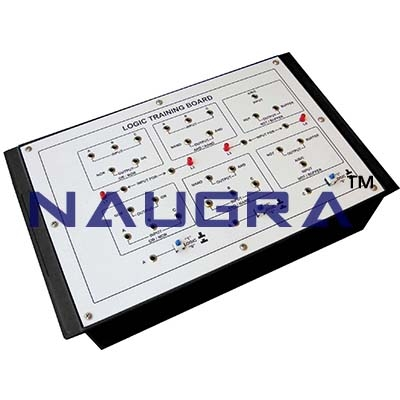 Logic Training Board NOT-BUFFER Trainer for Vocational Training and Didactic Labs