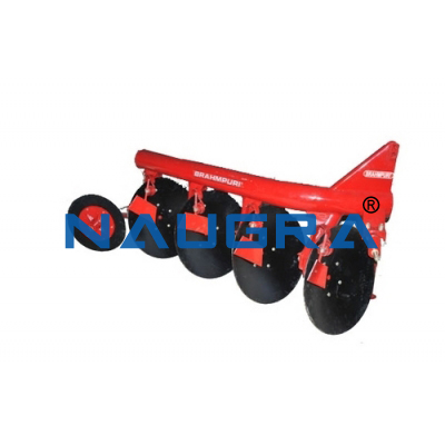 Disc plough and accessories