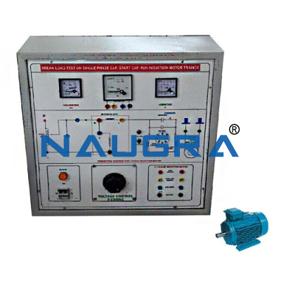 single phase capacitor start capacitor run induction motor speed control