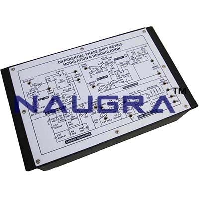 Differential Amplifier Trainer for Vocational Training and Didactic Labs