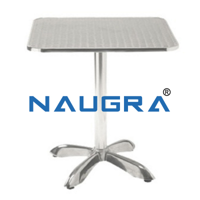 Aluminum Table for School Science Lab