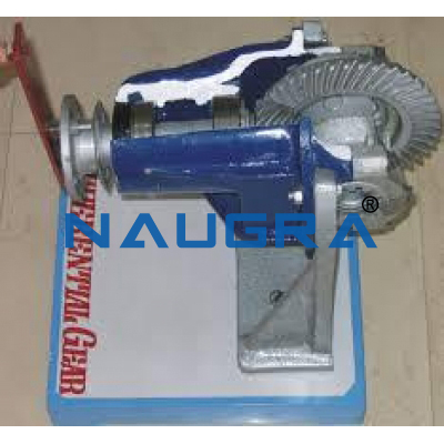 Demonstration Differential Gear Automobile Engineering Model and Training System for engineering schools