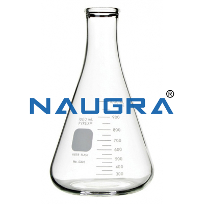 Erlenmeyer Flask for Science Lab