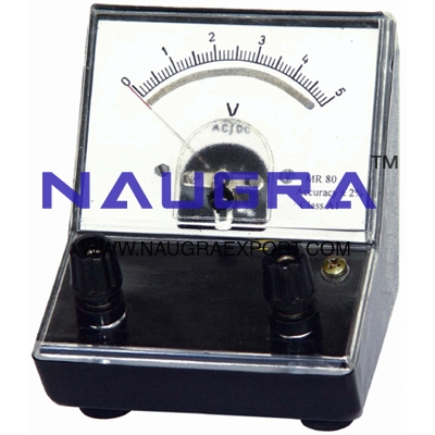 Meter - Voltmeters A.C. Analogue for Physics Lab