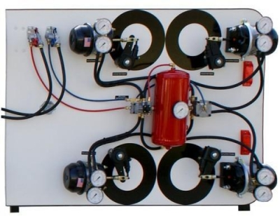 Pneumatic Air Brake Trainerfor engineering schools