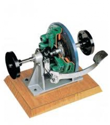 Sectioned Coil Spring Clutch  Trainerfor engineering schools