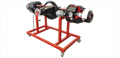 Sectioned Rear Axle Unit, Solid Axle Trainerfor engineering schools