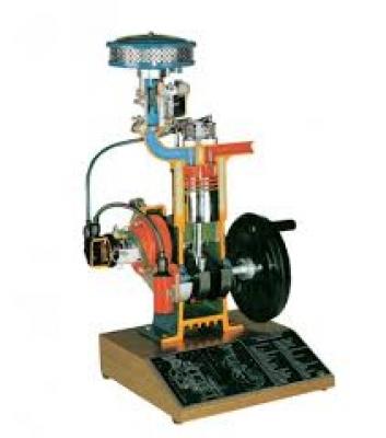 Four Stroke Petrol Engine Trainer Modelfor engineering schools