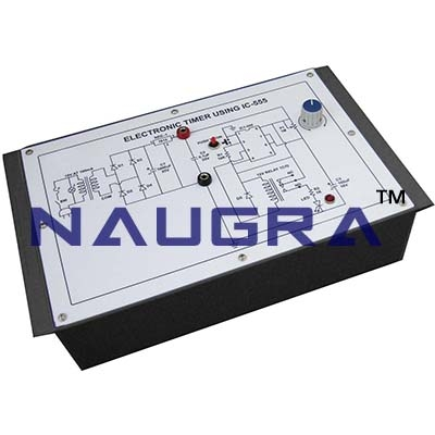 Electronic Siren Using Timer ICs Trainer for Vocational Training and Didactic Labs