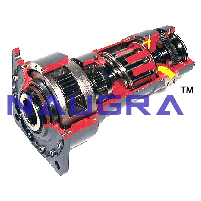 Axial Piston Motor - 18 for Electric Motors Teaching Labs