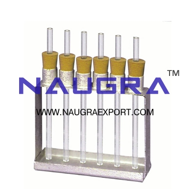 Capillary Tubes Apparatus for Physics Lab