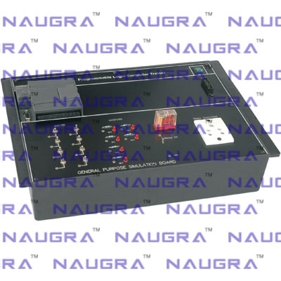 Programmable Logic Controller Trainer for Instrumentation Electric Labs