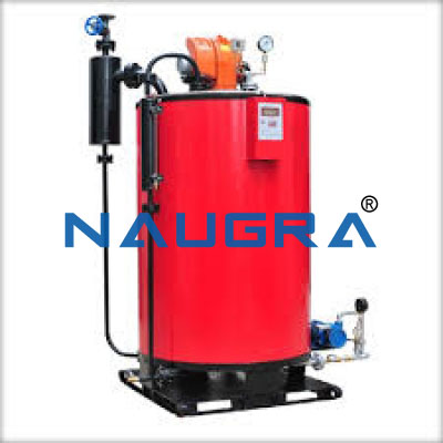 Vertical Water Tube Boiler - Heat Transfer Training Systems and Heat Lab Engine Trainers for engineering schools