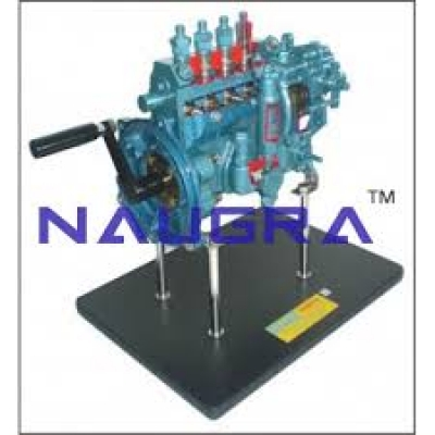 Fuel Supply System Of A Diesel Engine Automobile Engineering Model and Training System for engineering schools