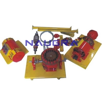 Advanced 3000W Machine Trainer for Electrical Lab