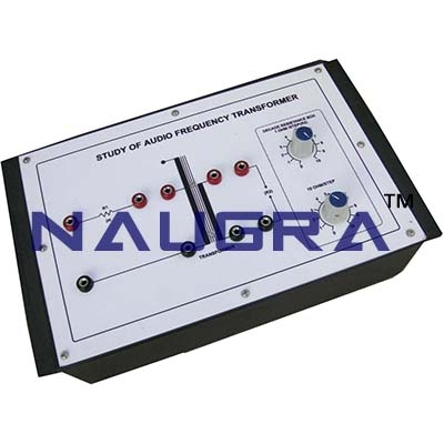 Audio Frequency Transformer Trainer for Vocational Training and Didactic Labs