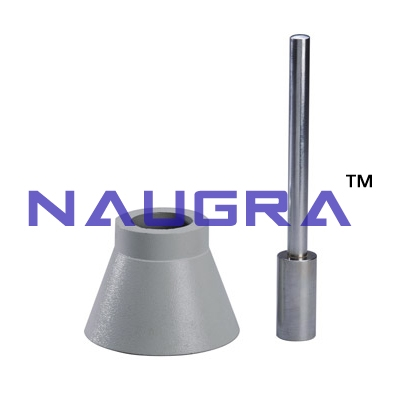 Sand Absorption Cone And Tamper For Testing Lab for Aggregate Testing Lab