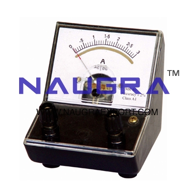 Meter - Moving Iron Ammeter for Physics Lab