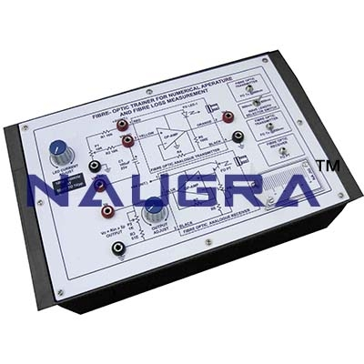 Fibre Optic Trainer for Numerical Aperature Trainer for Vocational Training and Didactic Labs