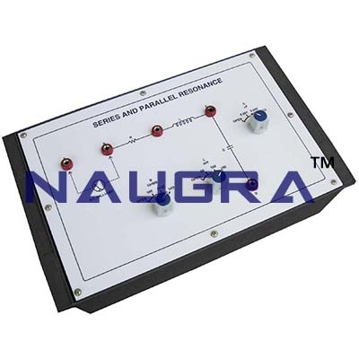 Series and Parallel Resonance - Analog Electronics Trainer for Vocational Training and Didactic Labs