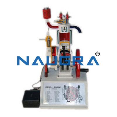 Diesel Engine ( cut model )