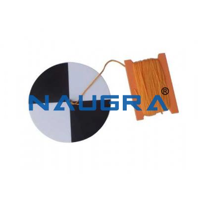 Secchi Disc for Earth Science Lab