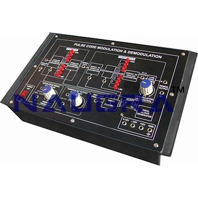 Percentage Modulation Trainer for Vocational Training and Didactic Labs