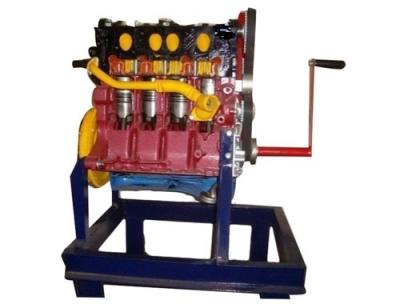 Four Stroke 4 Cylinder Diesel Engine