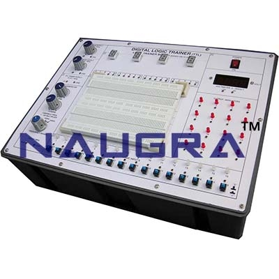 Digital Timer Two Channel Trainer for Vocational Training and Didactic Labs