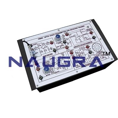Fibre Optic Voice Transmittr and Reciever Trainer for Vocational Training and Didactic Labs