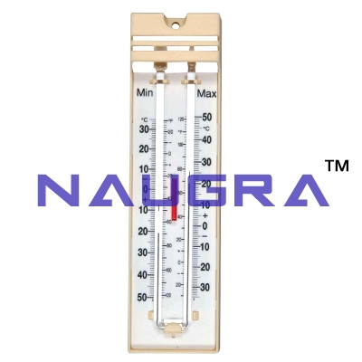 Max-Min Thermometer for Earth Science Lab, Geography Lab Exporters