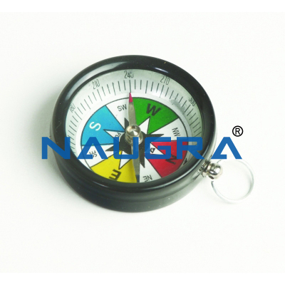 Aluminum Compass for Earth Science Lab