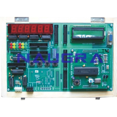 89C51 Embedded VLSI Trainer for Vocational Training and Didactic Labs