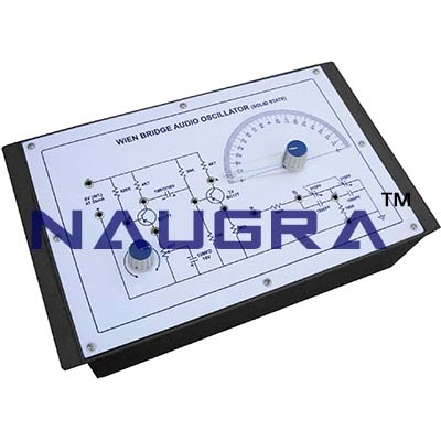 Oscillator and Null Detector Trainer for Vocational Training and Didactic Labs