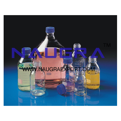 Reagent Bottles Narrow Mouth Screw Cap & Teflon liner for Science Lab